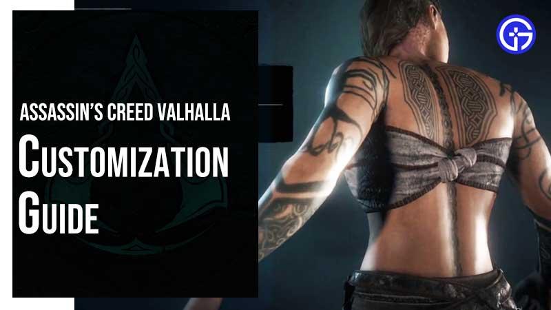 AC Valhalla Character Customization