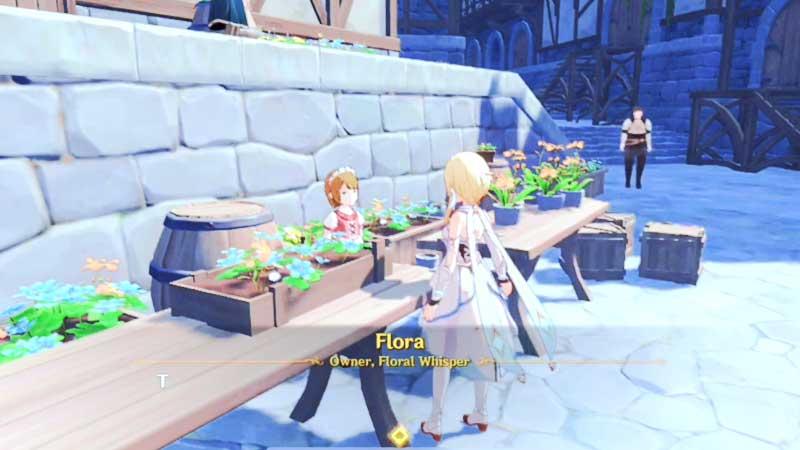 find flora location in genshin impact