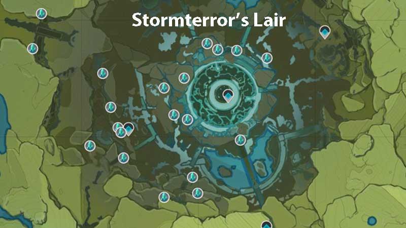 genshin impact stromterror's lair