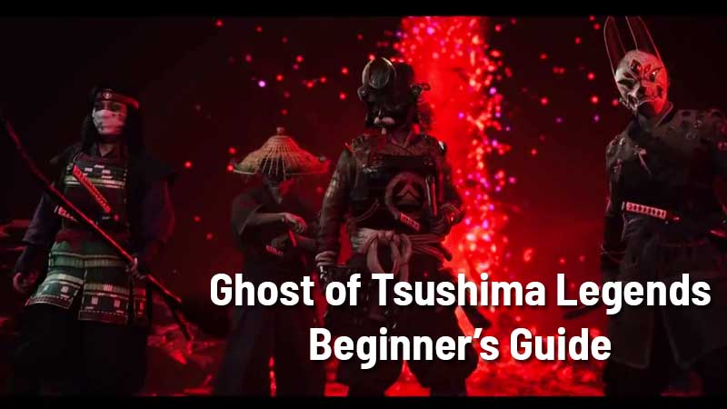 Ghost of Tsushima Beginners Guide