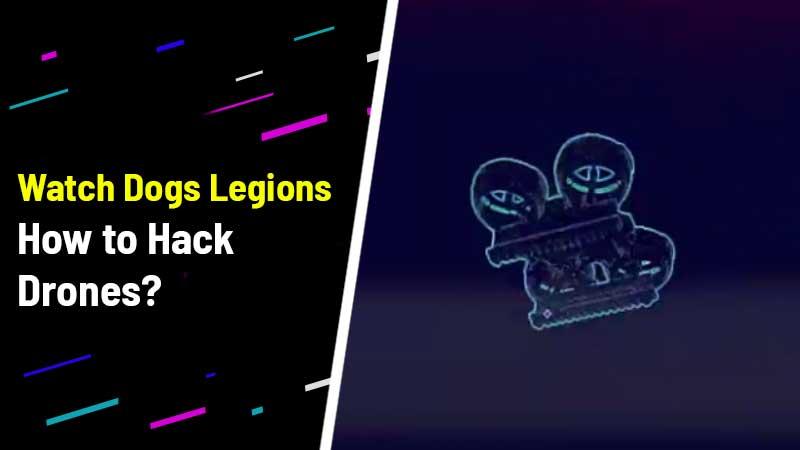 Hijack Drones Watch Dog Legions