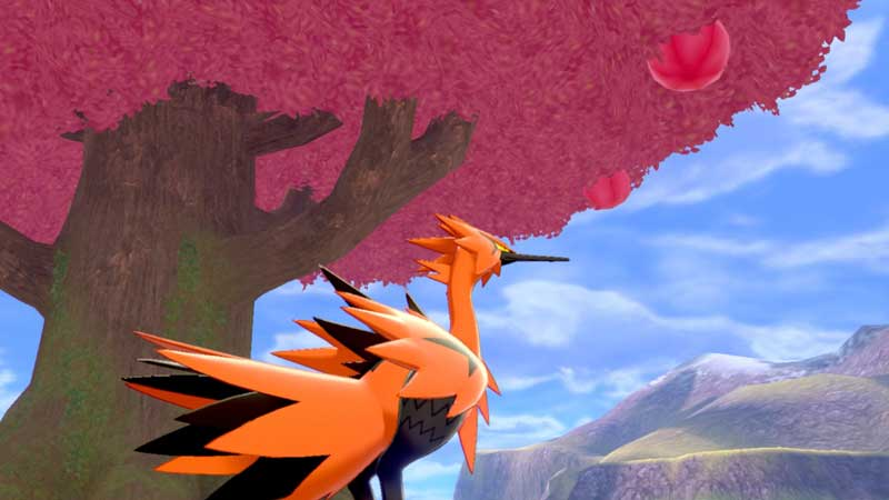 how to catch galarian zapdos in pokemon sword and shield's crown tundra