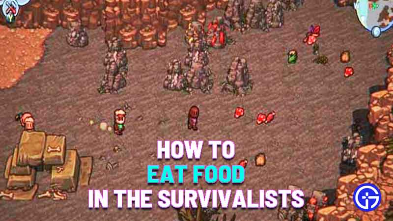 how to eat food in the survivalists