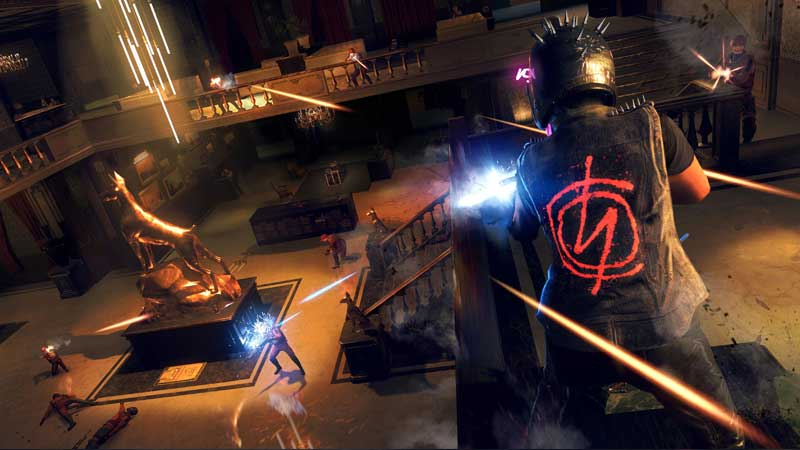 how to fire in Watch Dogs Legion