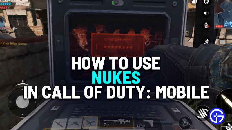 how to get nuke in call of duty mobile