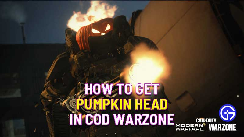 how to get pumpkin head in COD Warzone