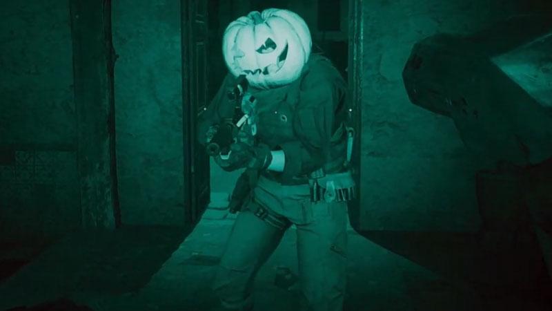 how to get pumpkin head in COD modern warfare