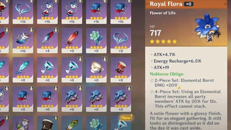 how-to-get-royal-flora-genshin-impact-legendary-artifact