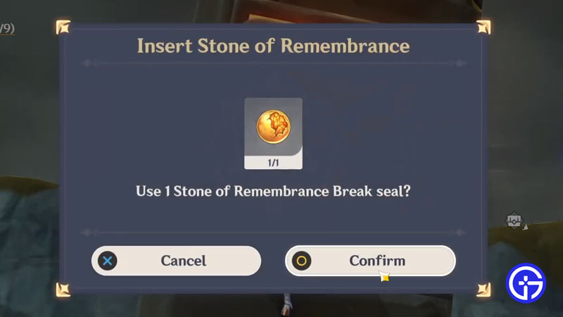 how to get stone of remembrance in genshin impact