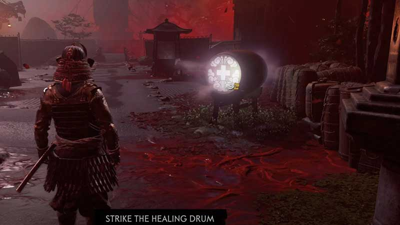 how-to-heal-yourself-ghost-of-tsushima-multiplayer