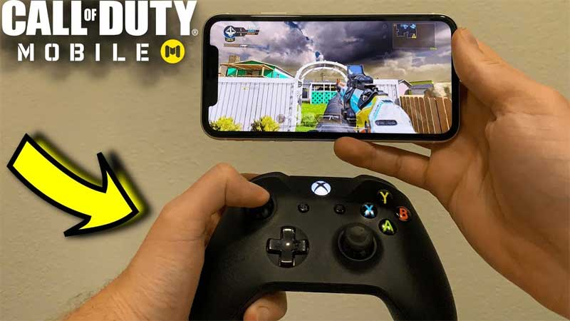how to play cod mobile with a controller
