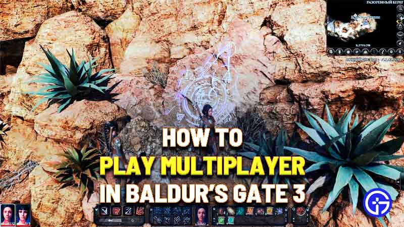 how to play multiplayer in baldurs gate 3