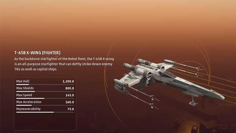 Star Wars Squadrons Ship Guide