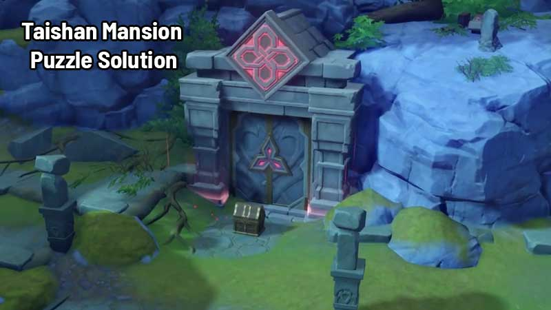 Taishan Mansion Puzzle Guide