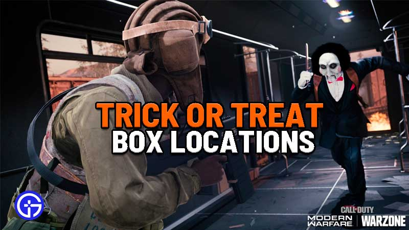 Trick Or Treat Loot Location In Call Of Duty Warzone Haunting Of Verdansk