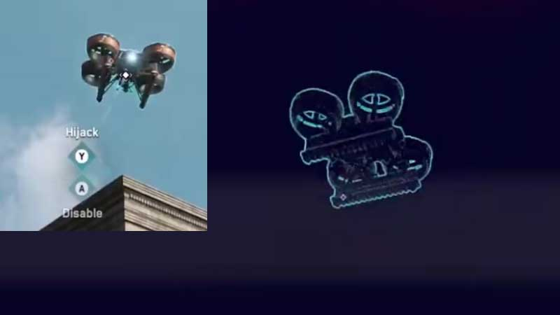 Hijack Drone Watch Dog Legions Guide