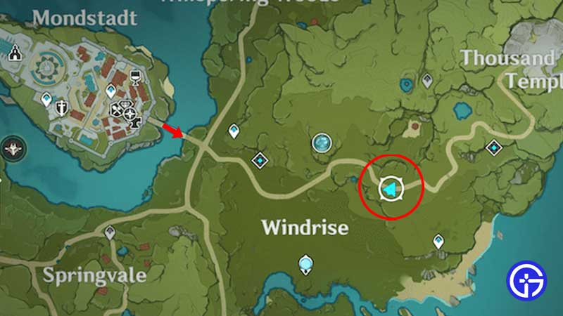 where-to-find-Chloris-genshin-impact