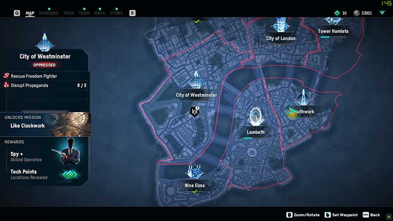 where to find a spy in watch dogs legion