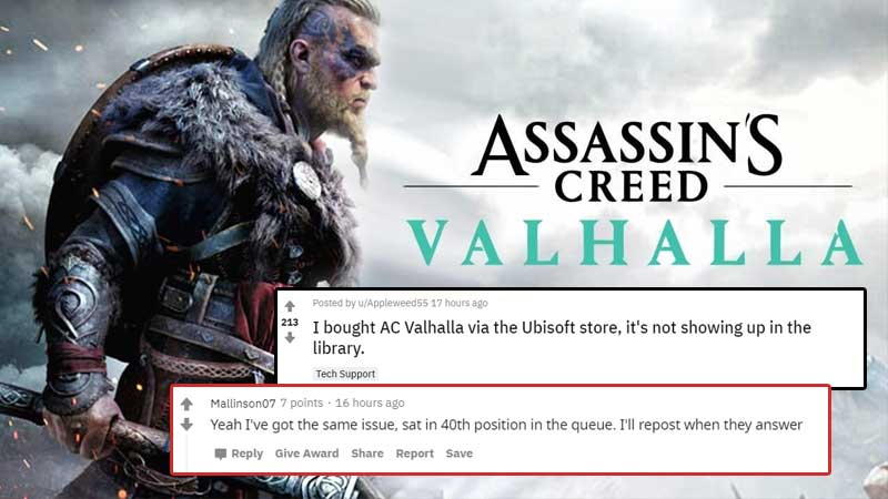 Assassins Creed Valhala Issue Fix Guide