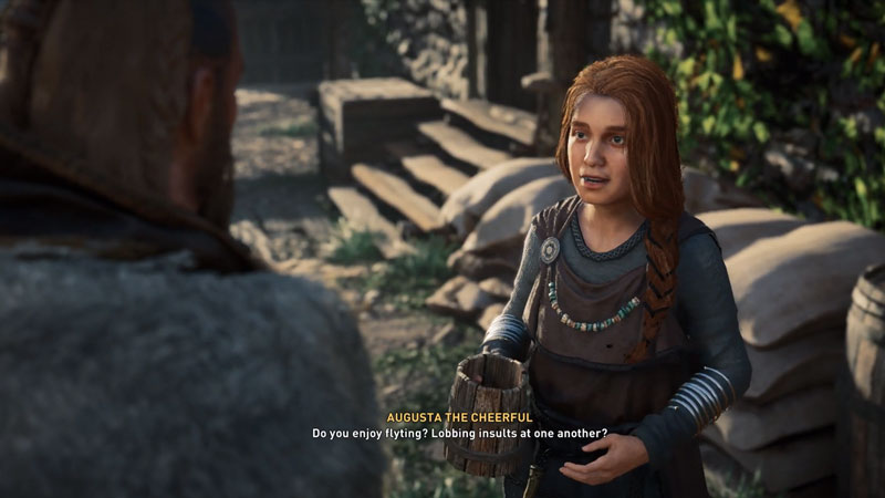Assassin's Creed Valhalla: Augusta The Cheerful Flyting Answers Guide