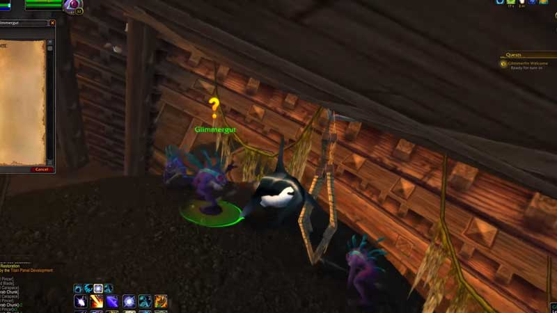 Complete glimmerfin scale quest in world of warcraft
