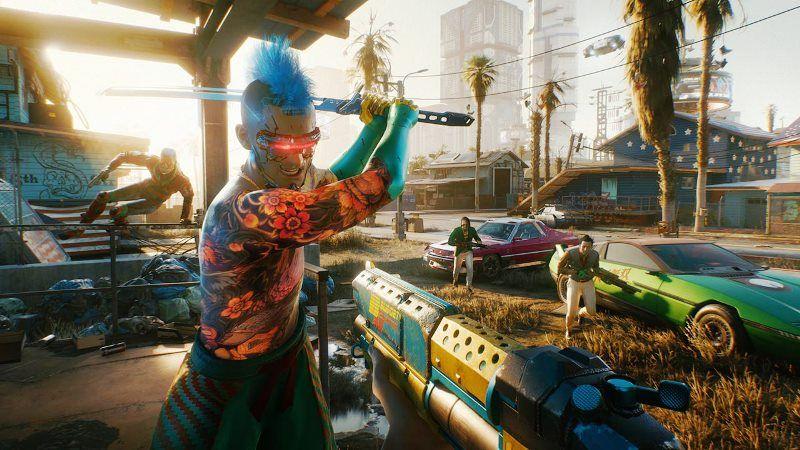 Cyberpunk 2077 Xbox Series X Gameplay Demo Showcased