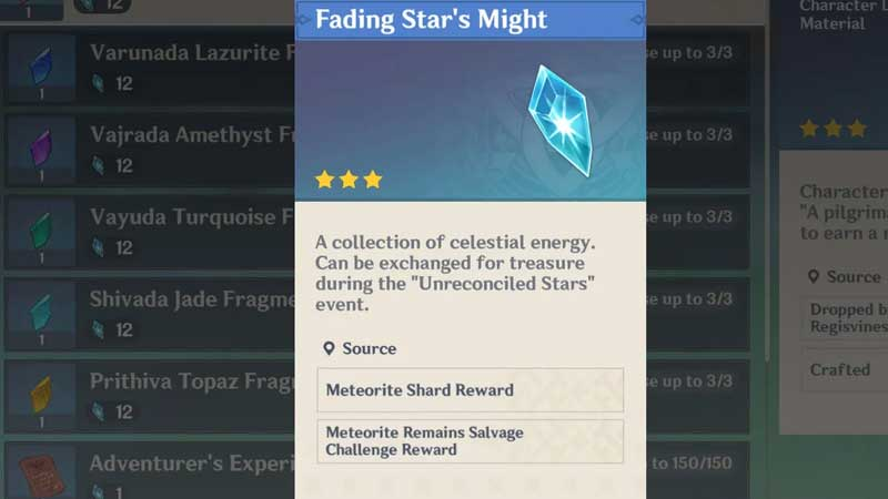 Fading Star Might Guide
