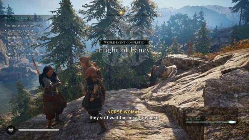 Flight Fancy Arne Norse Woman Guide