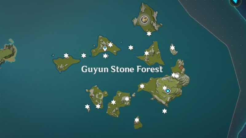 Meteorite Shard Locations in Genshin Impact