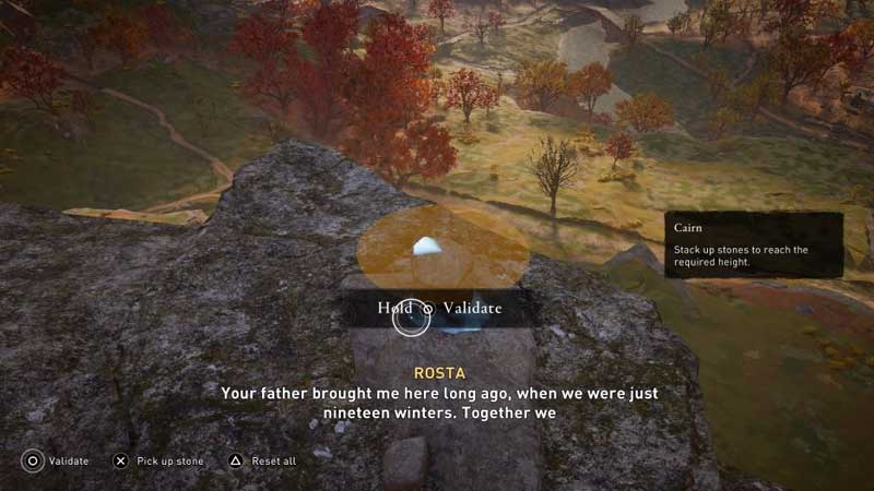 Stack Cairn Stones AC Valhalla Guide