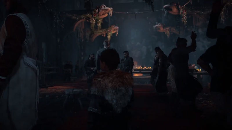 How to start a feast in assassiin's creed valhalla