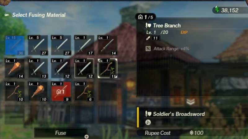 How To Upgrade Weapons In Hyrule Warriors Age Of Calamity