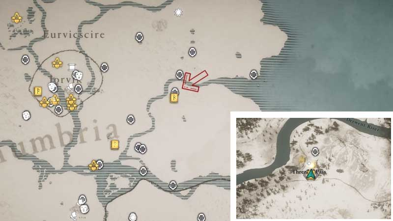 Kick of Tyr ability location in ac valhalla