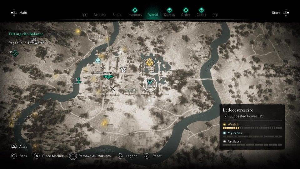 AC Valhalla Roman Artifacts Location Guide