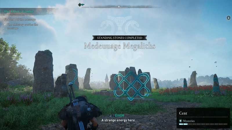 Medeuuage Magaliths Standing Stones Puzzle Solution