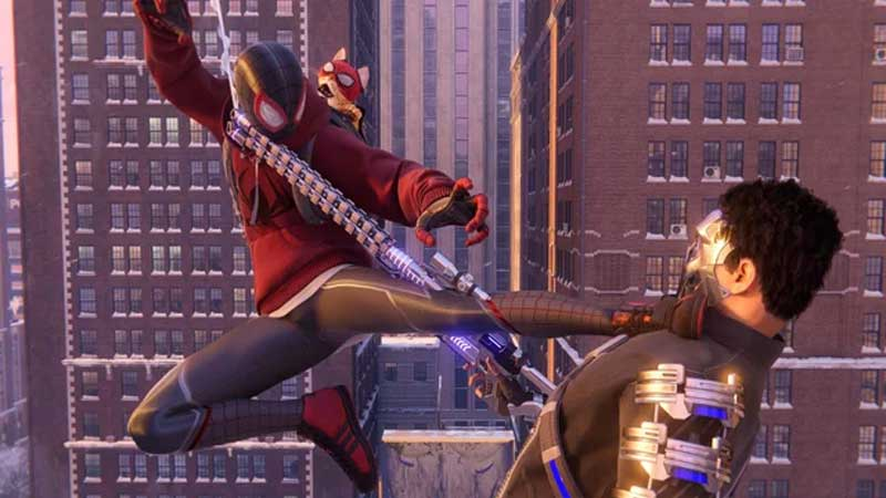 Miles Morales Throw an Enemy Guide