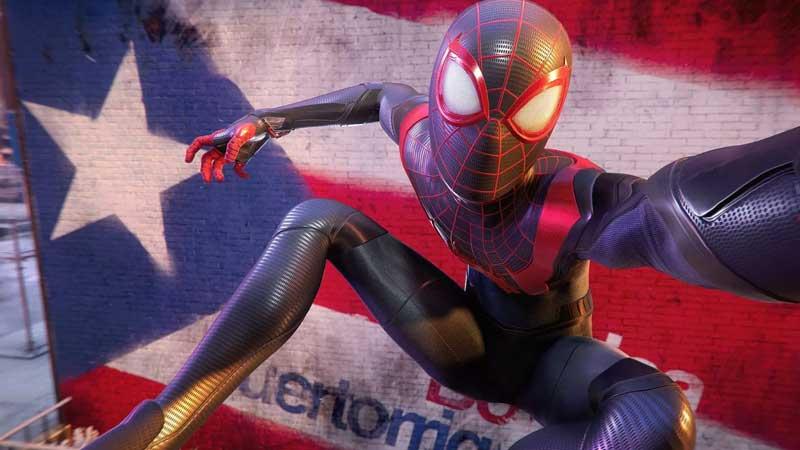 Spider Man Miles Morale Selfie Guide