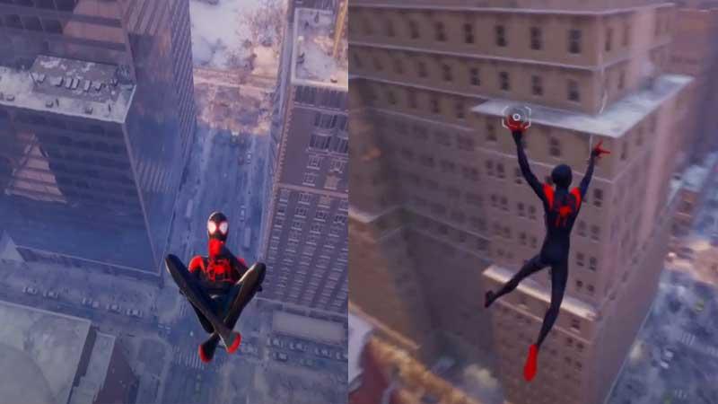 Spider Man Miles Morales Air Tricks Guide
