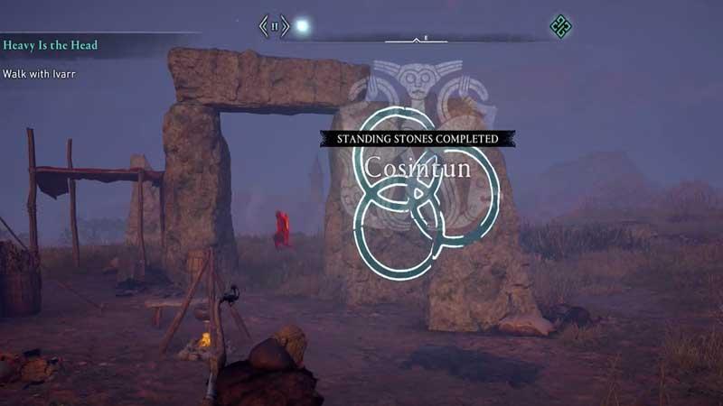 Standing Stones Puzzle AC Valhalla Guide