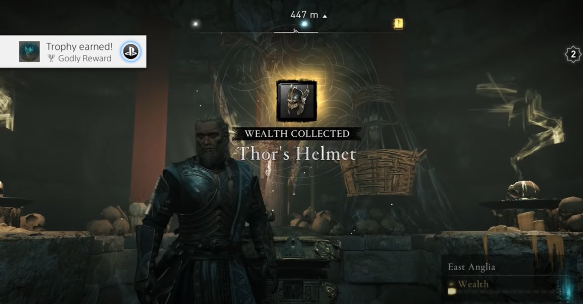 Unlock Thor's Helmet AC Valhalla