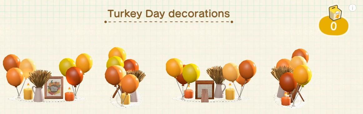 Animal Crossing New Horizons Turkey Day Guide