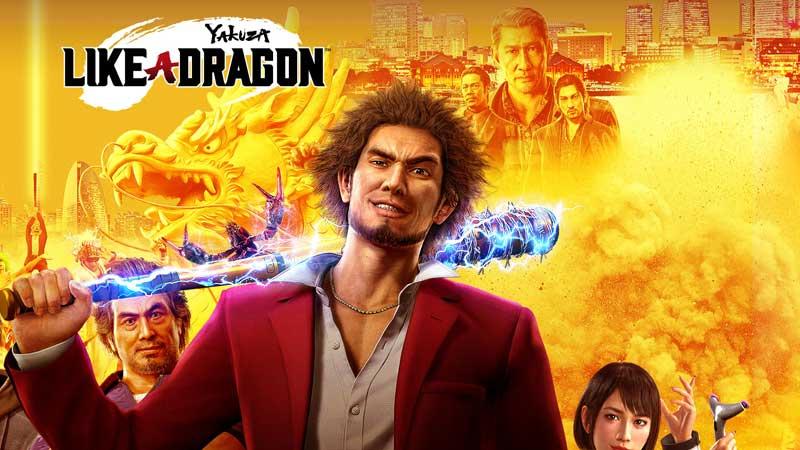 Yakuza Like a Dragon Nintendo Switch