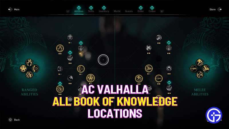 ac valhalla all book of knowledge locations
