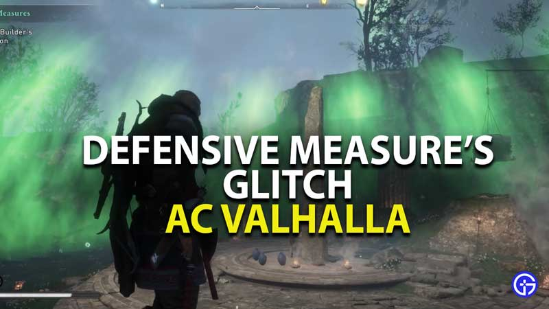 AC Valhalla Defensive Measure Glitch