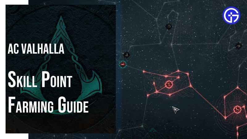 AC Valhalla Skill Points Farming Guide