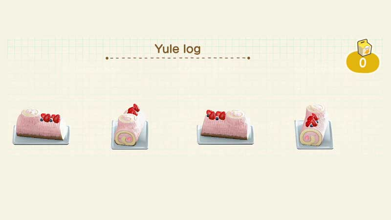 acnh-customize-yule-log