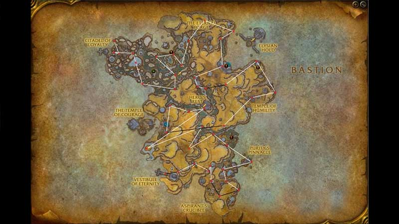 all anima shards locations to get silverwind larion secret mount in world of wacraft shadowlands