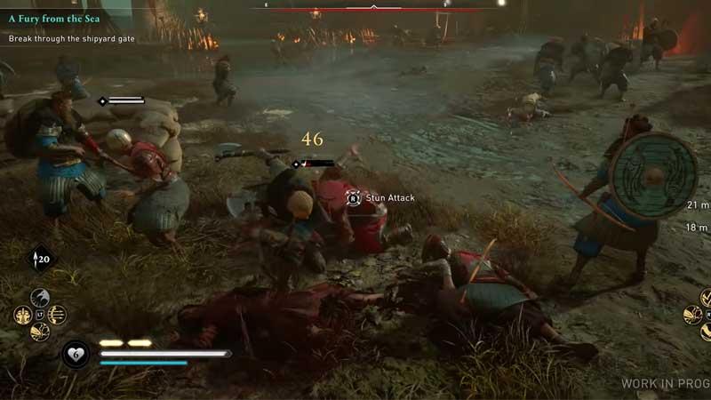 Assassins Creed Valhalla Stun Attack
