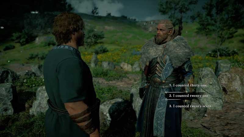 assassin's creed valhalla how many stones mystery
