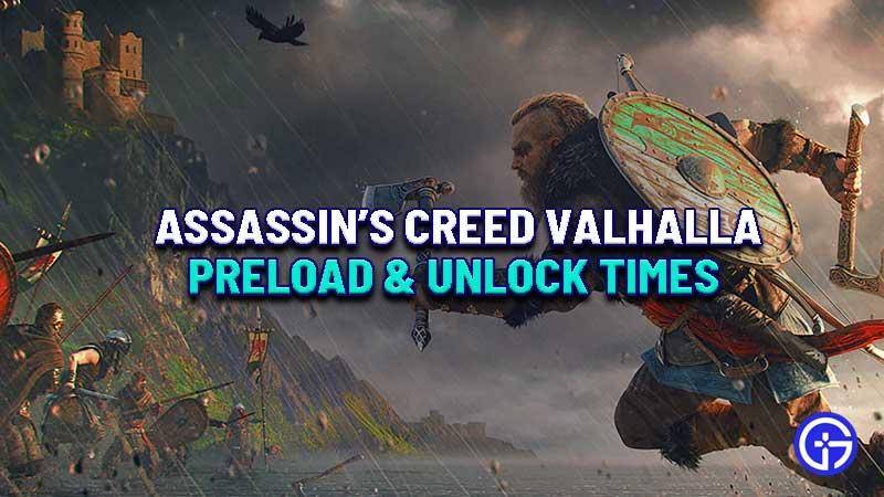 assassins-creed-valhalla-preload-unlock-time